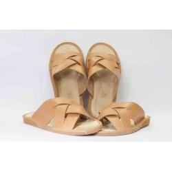 Pantofle křížené pánské