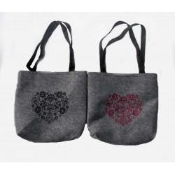 Filcová taška - různé motivy