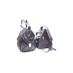 kožený batůžek - kabelka