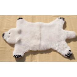 Panda - sešívaná kůže