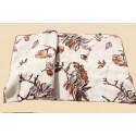 Vlněná deka 200 x 220 cm jednostranná