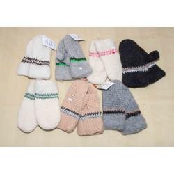 Pletené rukavice dámské