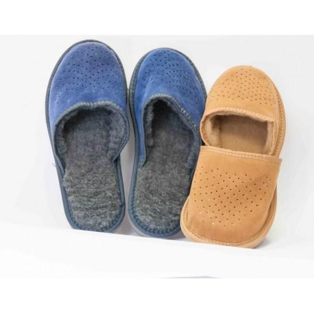 Pantofle zimní pánské