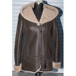 Dámská kožešinová bunda - dva zipy